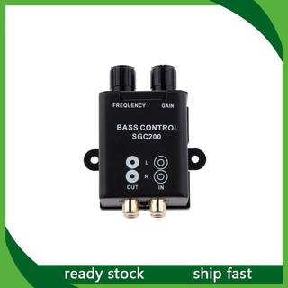 Car Audio Amplifier Subwoofer Bass RCA Level Remote Volume