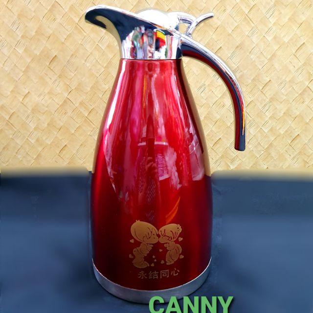 🧧🧣 Wedding Stainless Steel Vacuum Flask  2 Litres / 结婚热水壶 2Litre 🧧🎁
