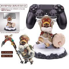 Palico Statue Controller Holder