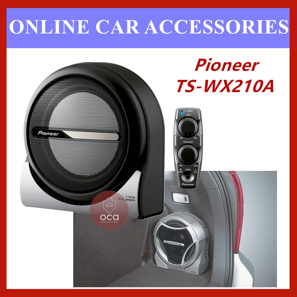 """PIONEER TS-WX210A 8"""" 150W Powerful Amplifier Subwoofer System"""