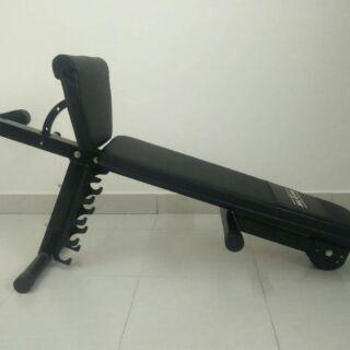 Super Exercise Bench 2 Dumbbells 10Kgs Each Spiritservingveterans Wood Chair Design Ideas Spiritservingveteransorg