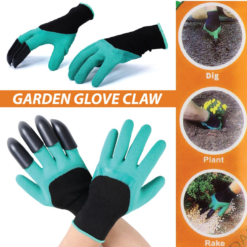 Back To Search Resultstools 1 Pair Trimming Planting Long Sleeve Anti Stab Thicken Gardening Labor Accessories Gloves Security Printed Tools Cold-proof Customers First Garden Tools