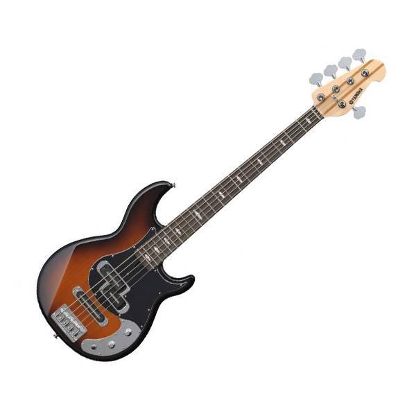 Yamaha BB1025X 5 String Alder 3P SS Pickup Electric Bass Guitar