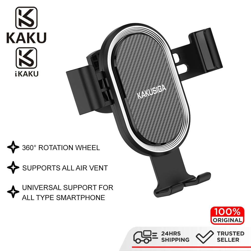 IKAKU KAKU YUNQI Car Phone Mount Suction Cup Dashboard Holder 360 Degree Free Rotation Adjust Stable Smartphone