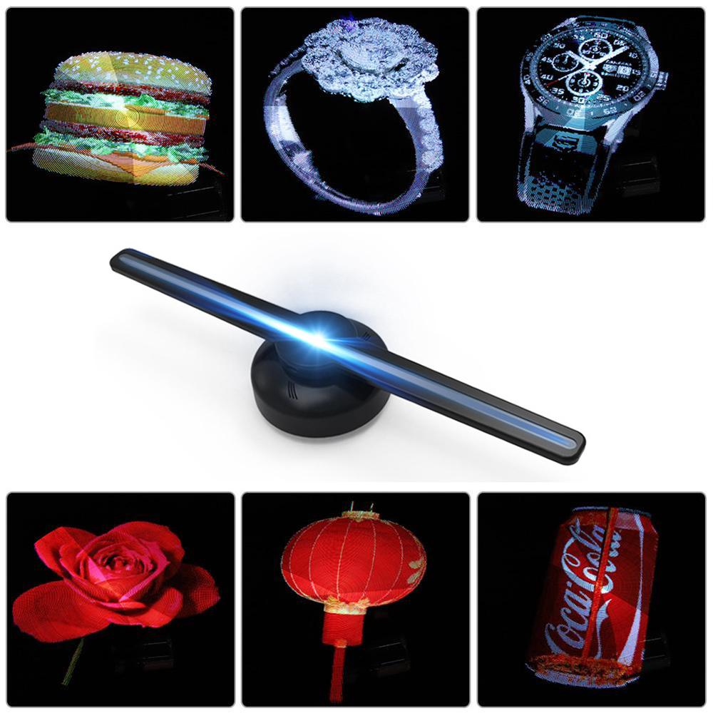 42CM LED WIFI HD 3D Hologram Projector Holographic