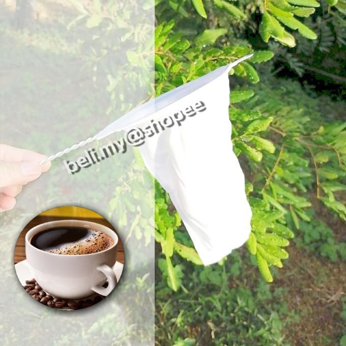 Cloth Coffee Filter Coffee Tea Maker Tool Penuras Kopi Teh Kain Penuras Penapis Kopi