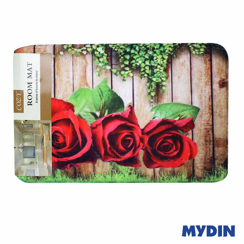 Cozy Bathroom Mat Flower 40x60cm RYL093-098
