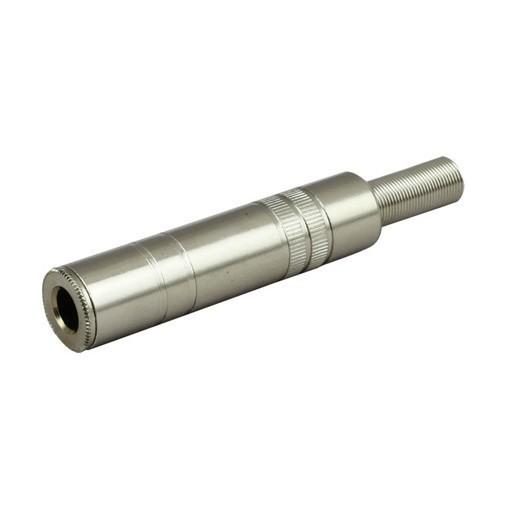 "6.35mm Female Socket 1//4/"" inch Mono Jack Audio Metal Adaptor Adapter Connector"