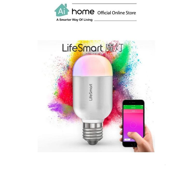 Lifesmart Bluetooth Light Bulb E27 160 Million Color with 1 Year Malaysia Warranty [ Ai Home }