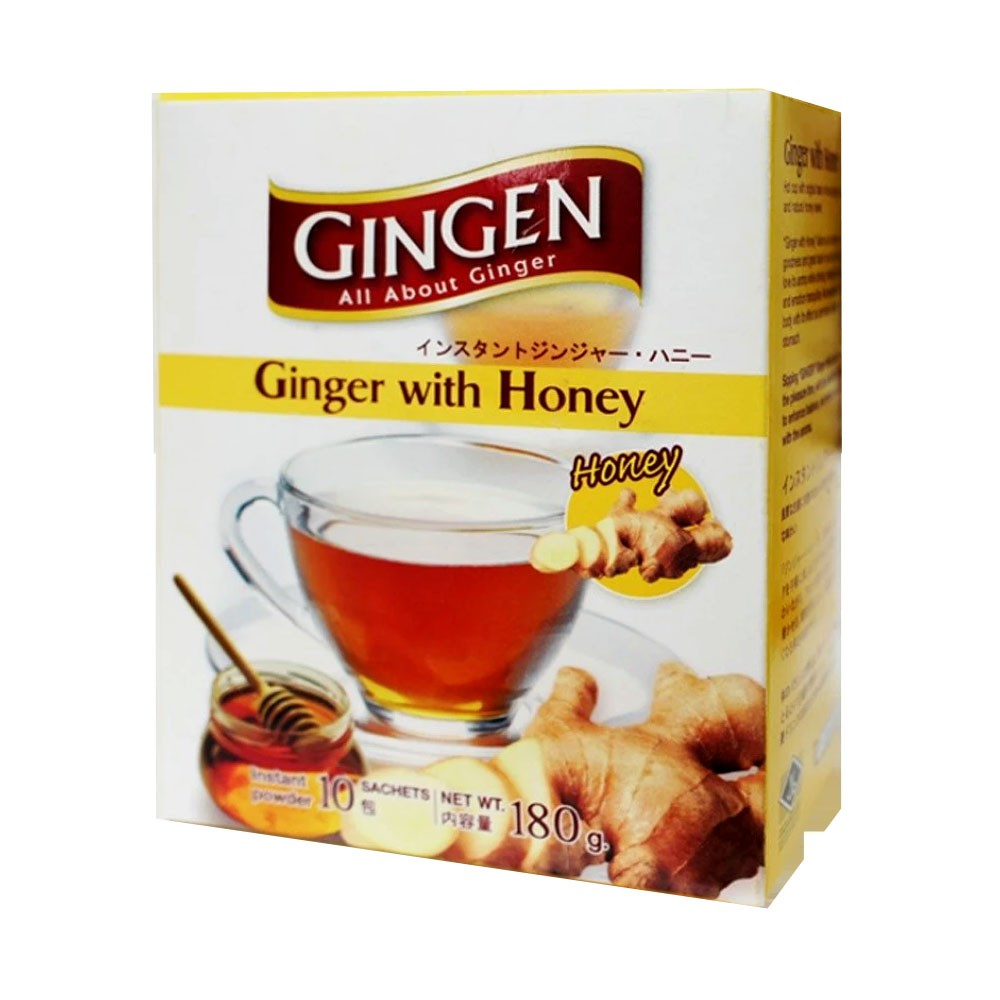 Gingen Ginger With Honey Drink 18g X 10s