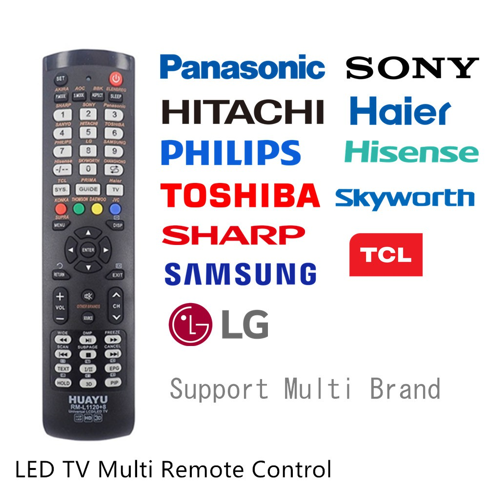 [OFFER! TODAY ONLY!] Huayu Universal Multi Remote Control for LED TV
