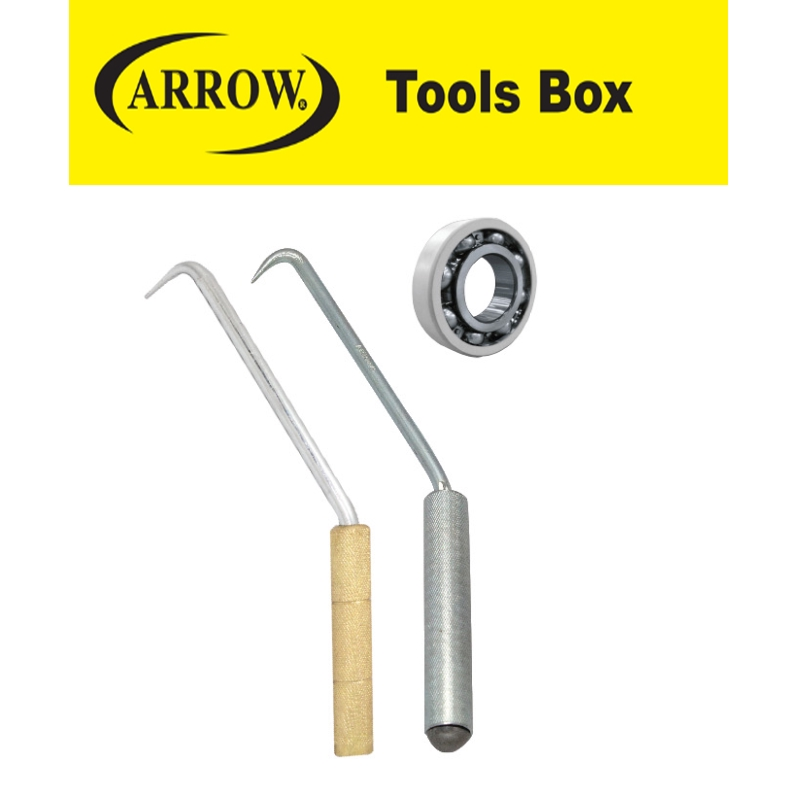 READY STOCK!!ARROW AWHG10 AWHW10 10'' H/D TWISTED WIRE HOOK WITH GALVANIZED HANDLE EASY USE SAFETY GOOD QUALITY MUDAH
