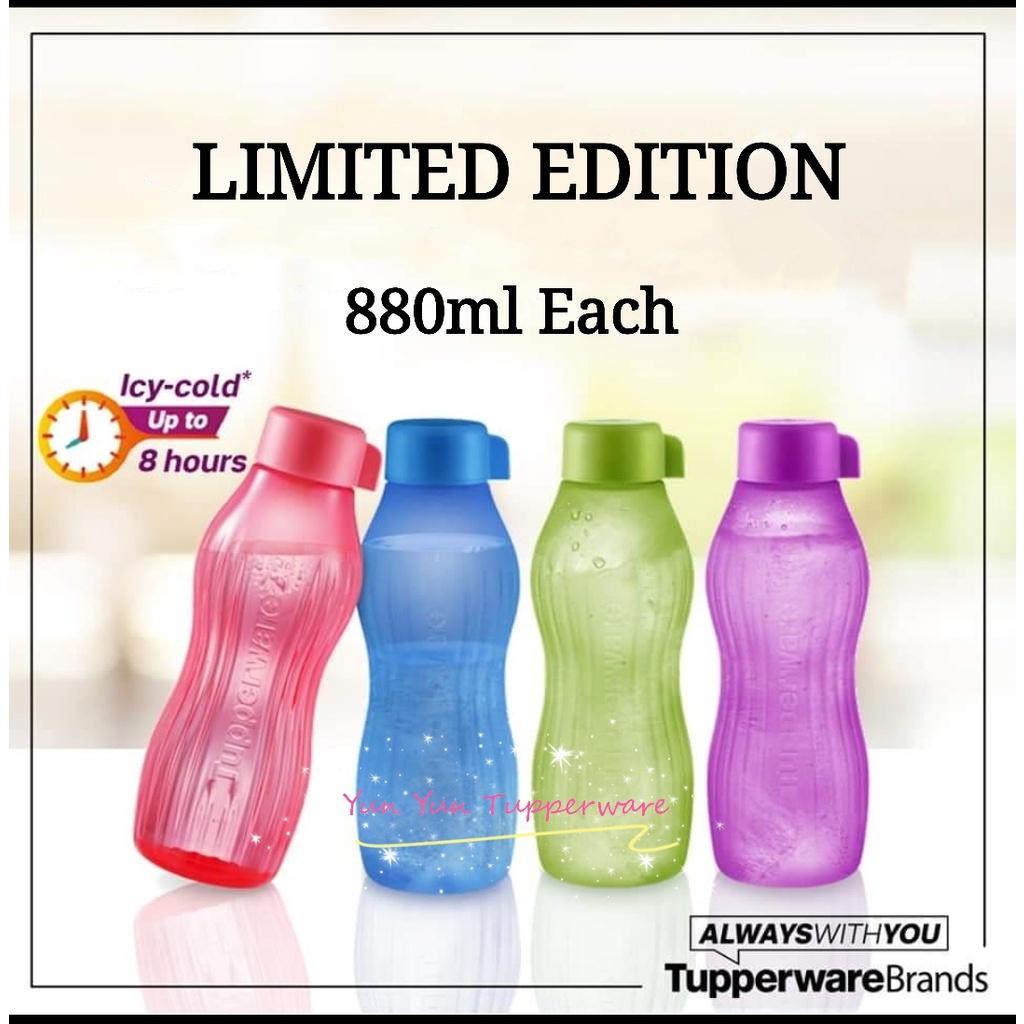 Tupperware Eco Bottle (Xtrem Aqua) - Chose your favorite color
