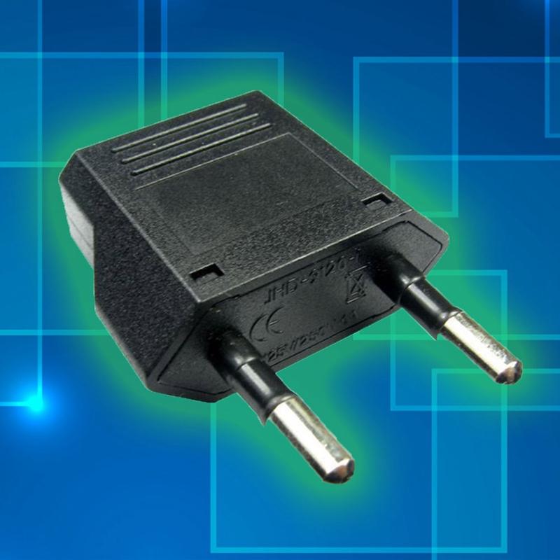 Travel Adapter UK Shaver Toothbrush BS4573 to EU CEE-7//16 2-pin EuroPlug WHITE