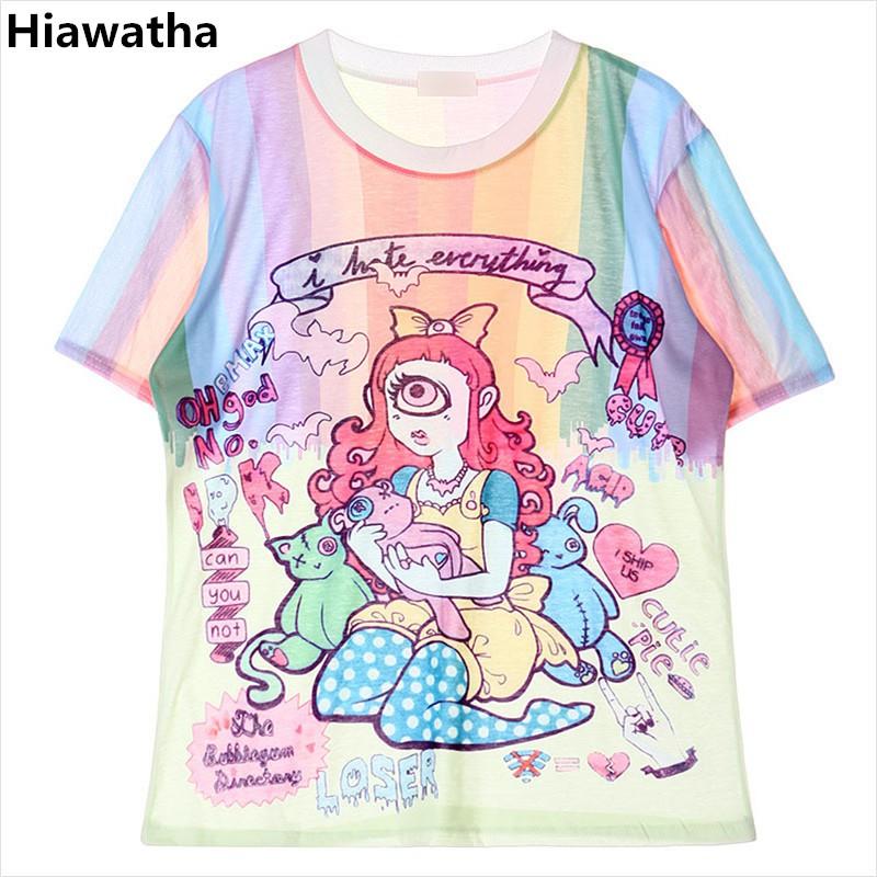 d6660f3ebb2 Realpopu Printed QR Code Fashion Long Sleeve T Shirt Women Black T-shirt
