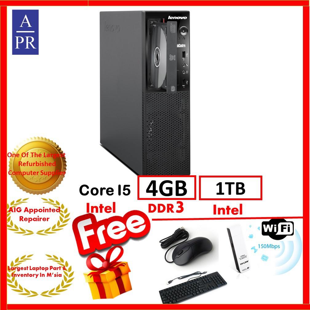 Explore Lenovo Desktop Product Offers And Prices Shopee Malaysia Ideacentre Aio 310 20iap Celeron J3355 4gb Ddr3 500gb Hd White