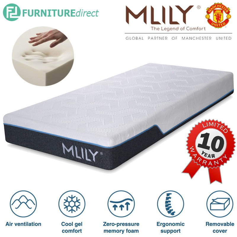 MlILY 8″ Supreme cool gel memory foam mattress