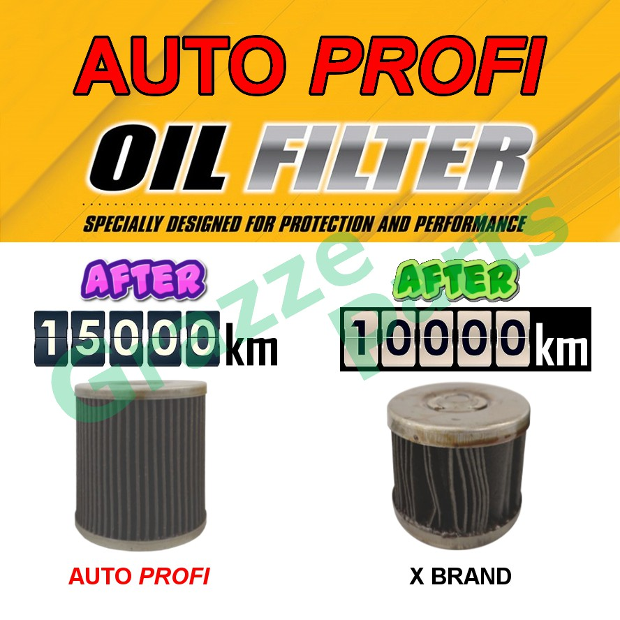 Auto Profi Engine Oil Filter OP-05 for Pajero IO Subaru Forester Imprezza Mazda 2 Mazda 3 Mazda 5 Mazda 6