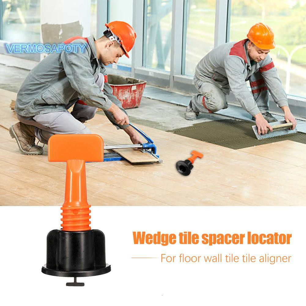 50x Tile Leveller Tile Leveling Alignment System Wrench Recycling Spacer Floor