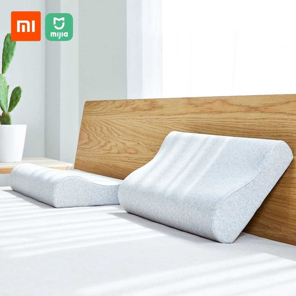 Xiaomi Mijia Antibacterial Neck Protection Pillow Neck Pain Memory Cotton Pillow Breathable for Sleeping Relaxation Pil