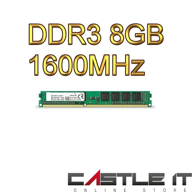 OEM DDR3 8GB PC1600 1600MHz Desktop Ram PC Ram 16Chip Compatible for  Intel/AMD
