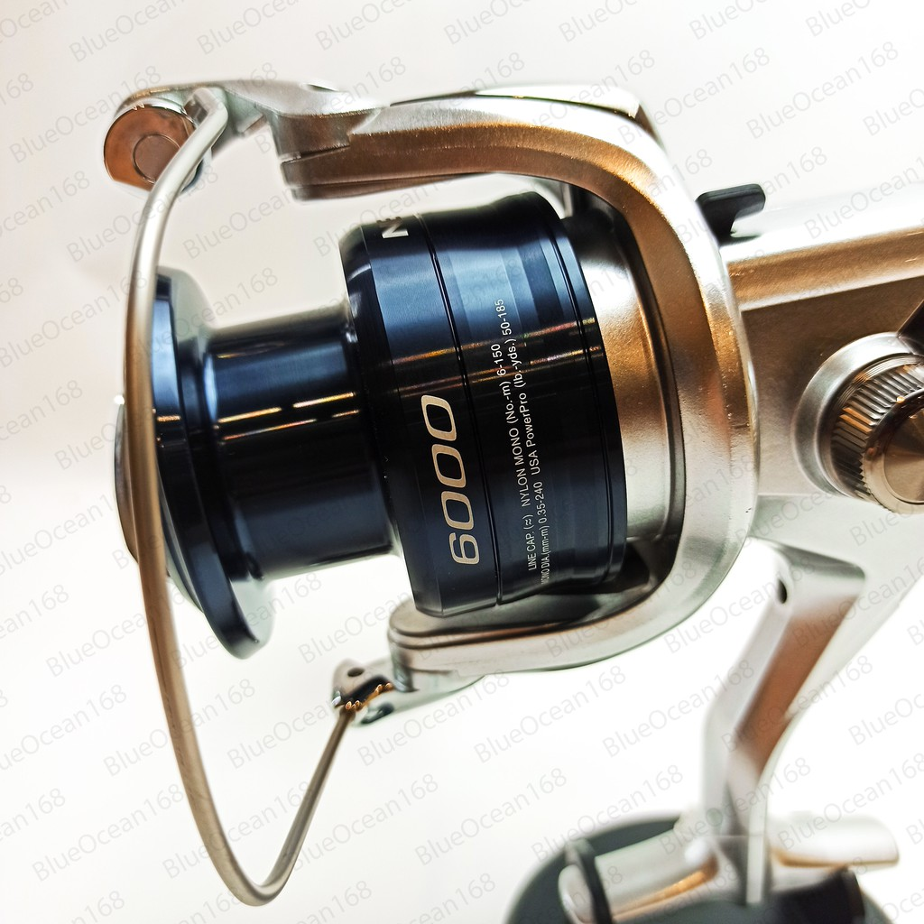 Shimano 2500HGFE C3000HGFE 8000FE Nexave Spinning Fishing Reel 6000FE