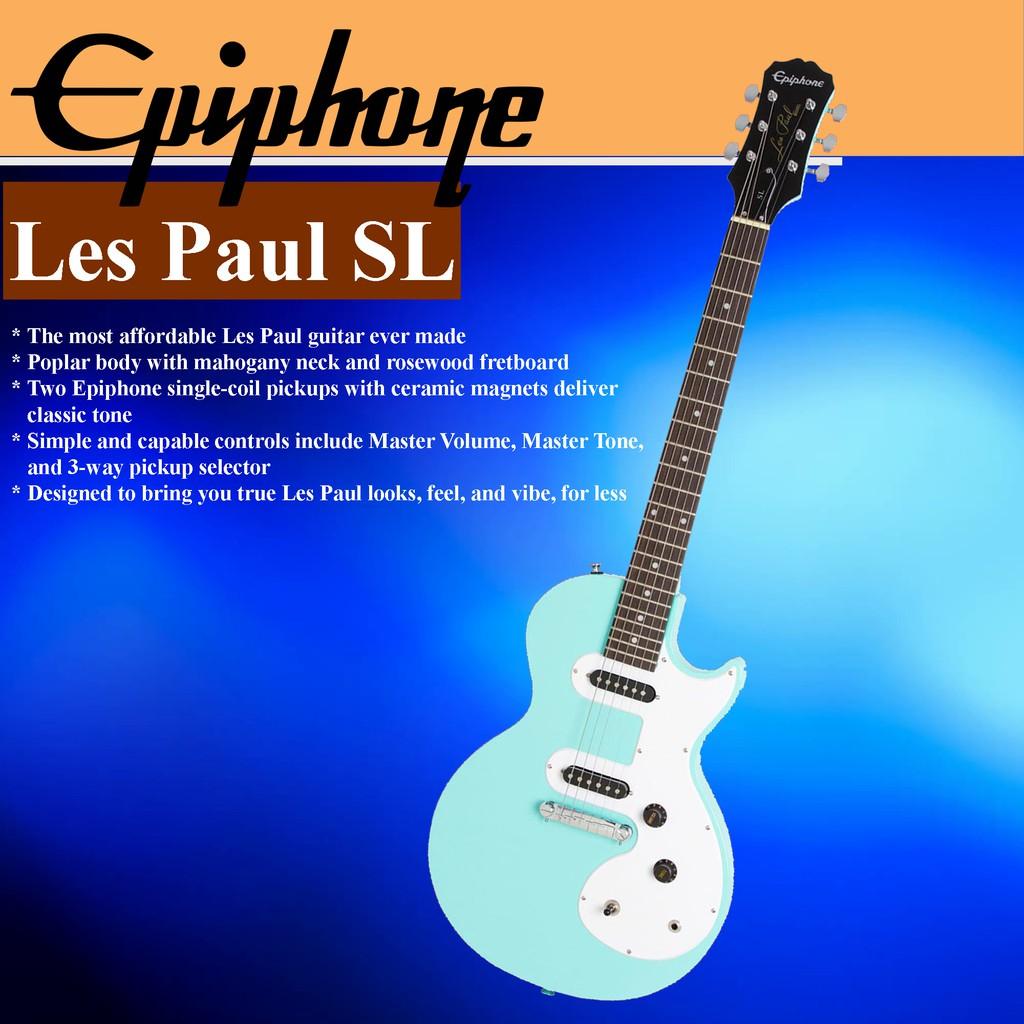 Epiphone Les Paul SL Solidbody Electric Guitar