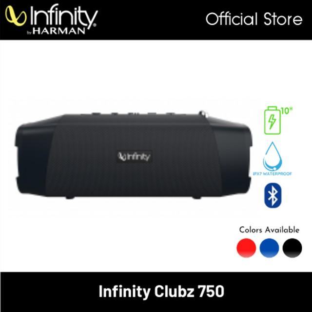 Infinity Clubz 750 Portable Bluetooth Speaker with Powerbank