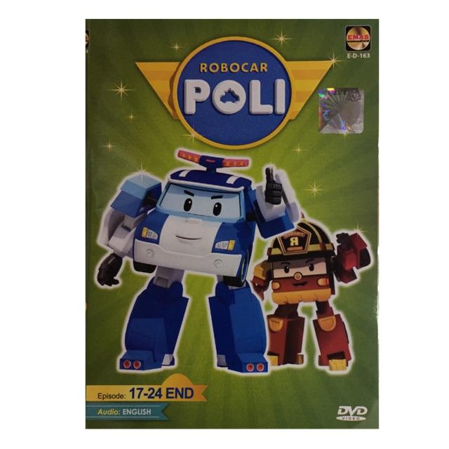 ROBOCAR POLI 安全小将 ( EPISODE 17 - 24 END ) DVD ANIME / CARTOON
