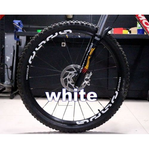Mountain Bike bicycle wheel rim stickers for M50 cycling race dirt decals