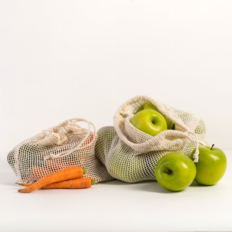 Rethink Fresh Produce Bags - Multis Small(1x) + Large(2x)