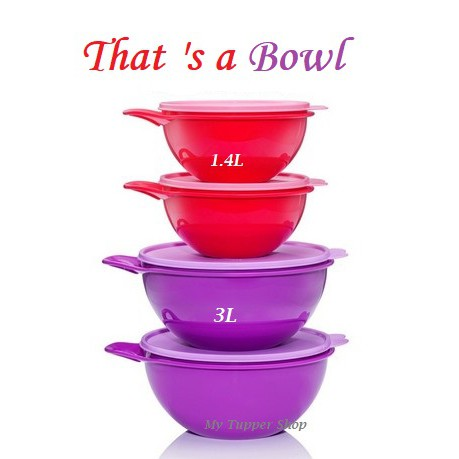 Tupperware That's A Bowl 1.4L/3.0L (1)