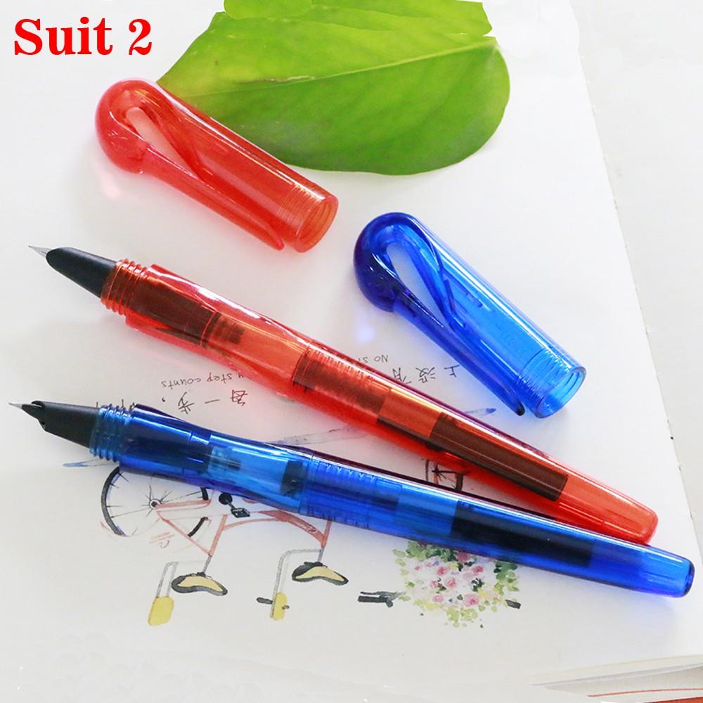 Transparent Blue New Jinhao Swan Series Extra Fine Fountain Pen