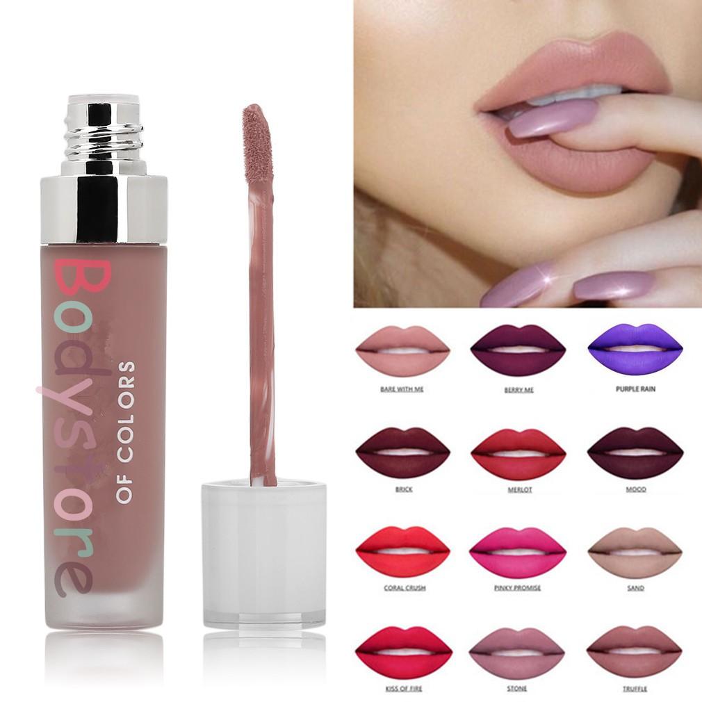 Bds professional woman lip makeup matte lipsticks waterproof matte bds professional woman lip makeup matte lipsticks waterproof matte lipstick shopee malaysia izmirmasajfo
