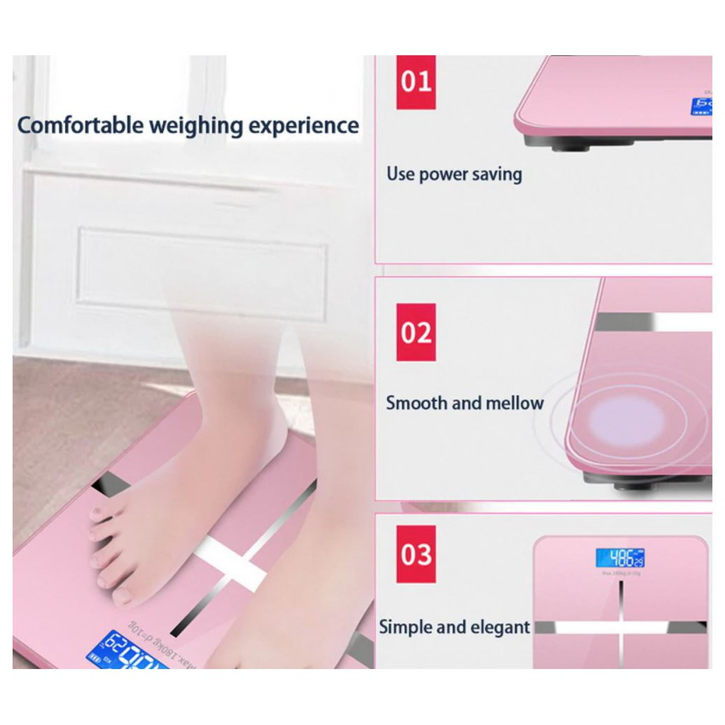 Digital Weighing - Skala Penimbang - Scale High Accuracy Tempered Glass LCD - USB Charging / Battery - !!Ready Stock!!