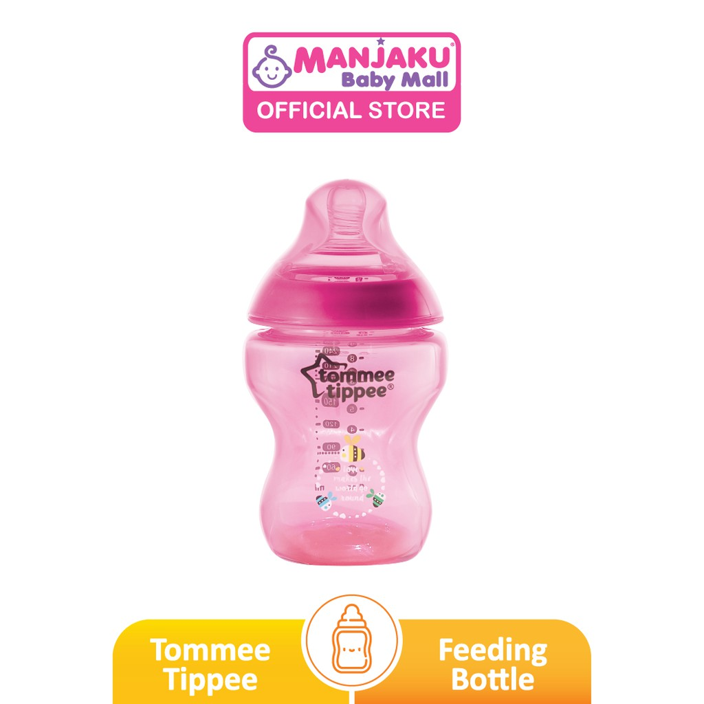 Tommee Tippee Closer To Nature Tinted Bottle - Assorted Color (260ml/9oz)