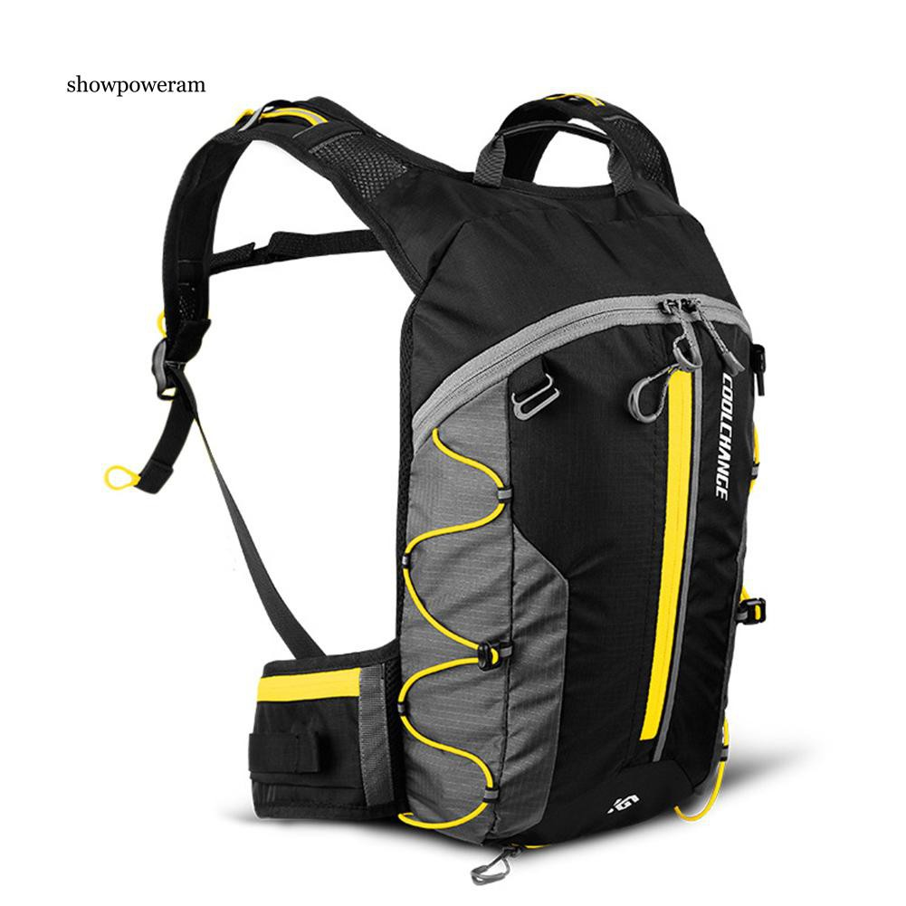 MTB 10L Bicycle Cycling Backpack Bladder Bag Hydration Pack Hiking Camping Water