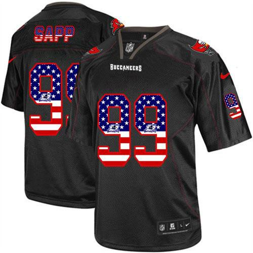 Nice Nike Buccaneers #99 Warren Sapp Stitched NFL Elite Drift Jersey  for cheap