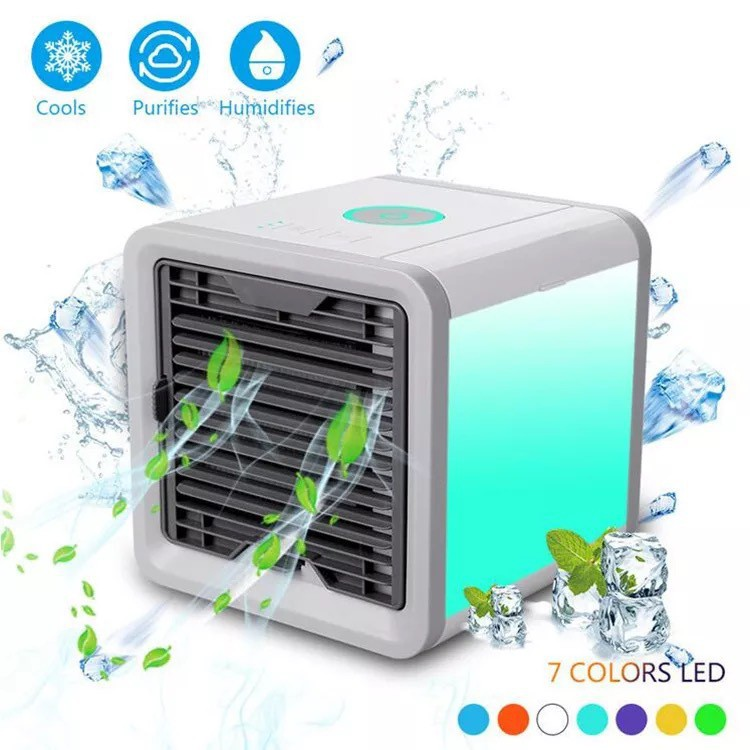 【 Air Cooler Arctic】Air Conditioner Mini Cool Fan For Bedroom Portable  Cooler