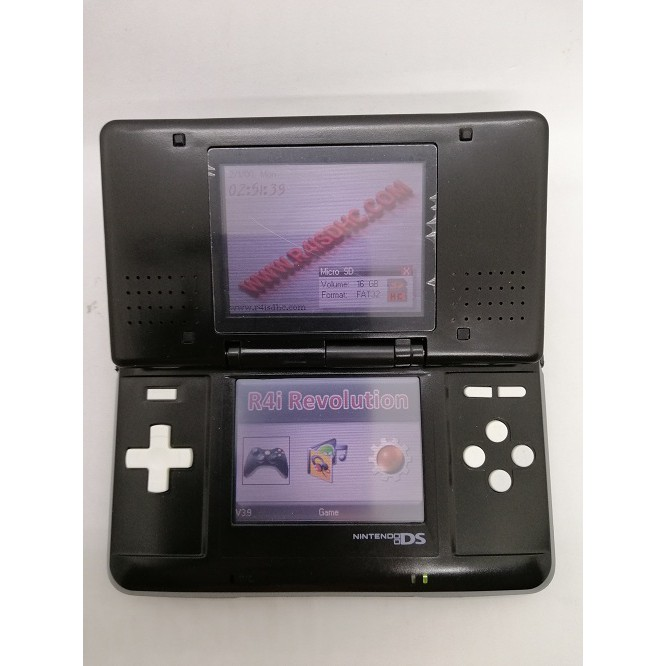Nintendo DS Black (Refurbished Set) With 16 GB Memory Card And 100 Games