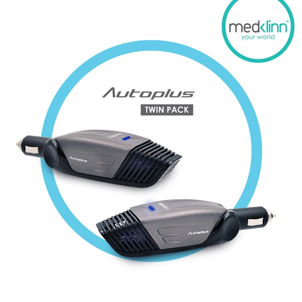Medklinn Autoplus In-Car Air+Surface Sterilizer [Twin Pack]
