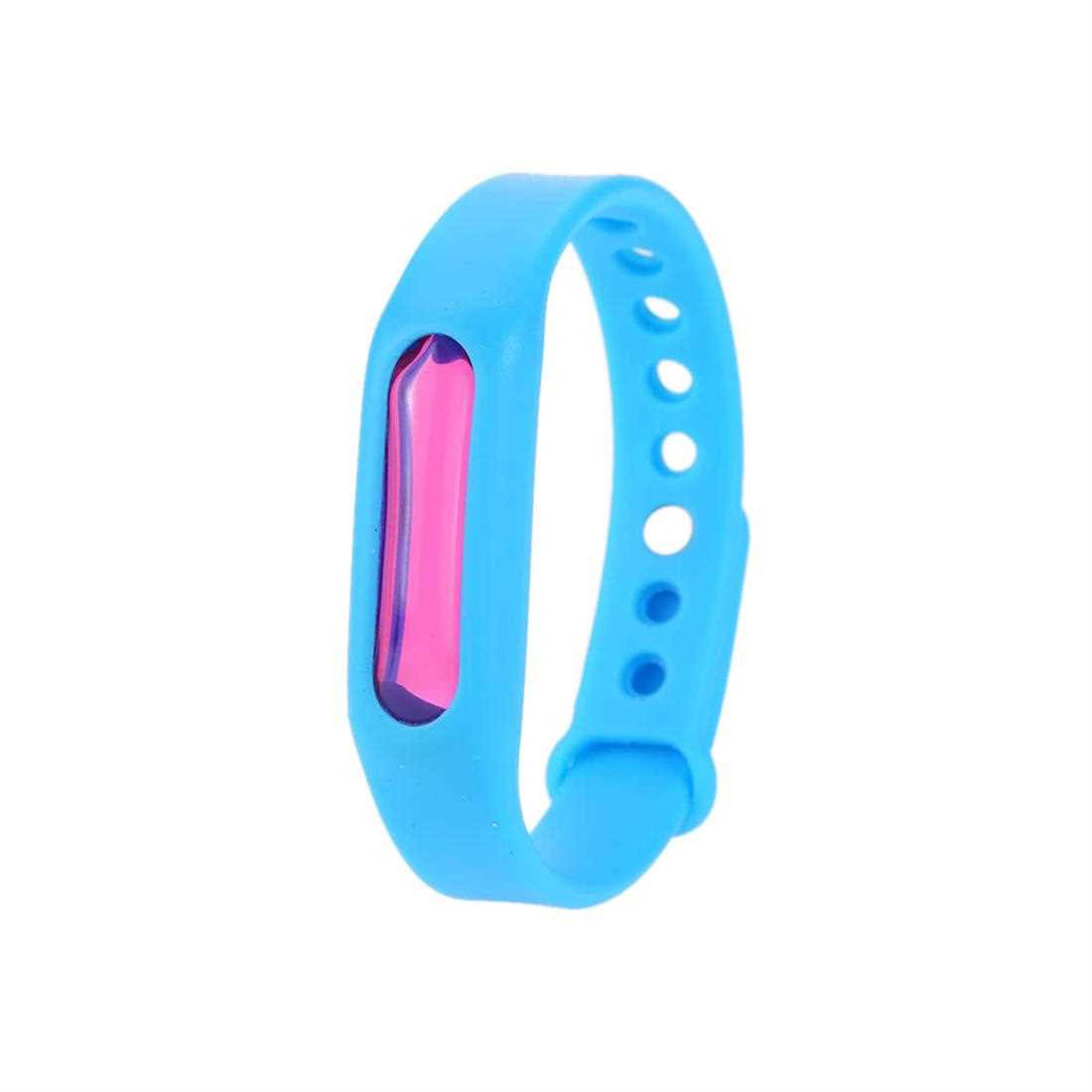 Mosquito Repellent Bracelets Natural Bug Insect Protection Pest Control Waterproof DEET Free Wristband for Kids & Adult