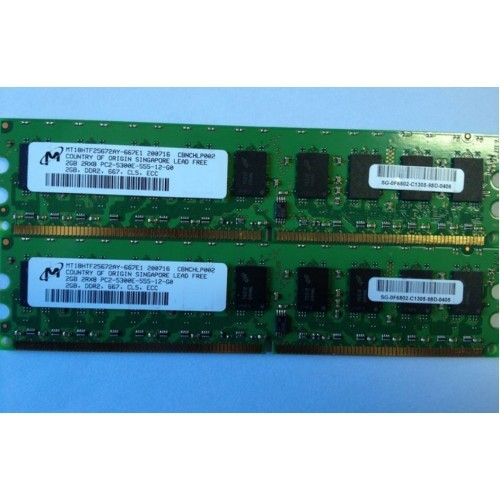 ECC RAM 4GB 4@1GB FOR Dell Poweredge SC420 SC430 SC440 PC2-5300E DDR2 667 Memory