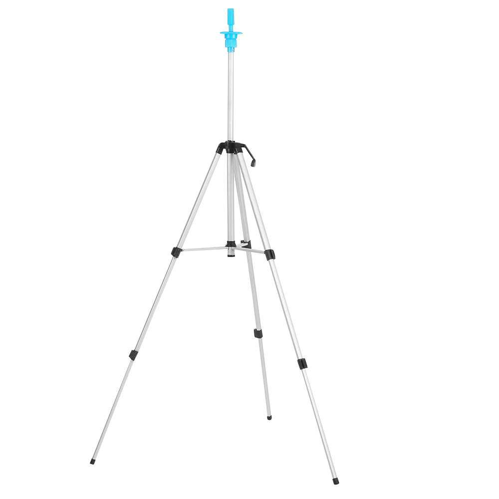 Adjustable Wig Tripod Stand Head Mannequin Hairdressing Training Tripod Holder Wig Head Holder Hair Salon With Carry Ba