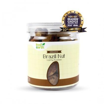 Love Earth Lightly Roasted Organic Brazil Nut