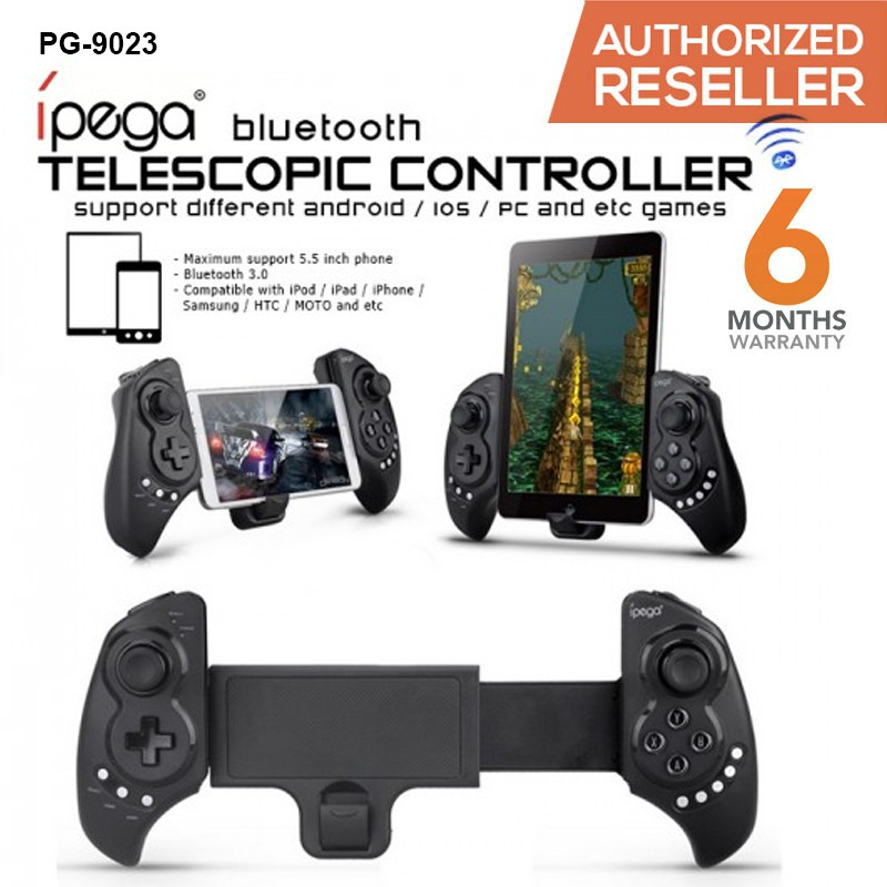 IPega PG-9023 Gaming Bluetooth Telescopic Controller For Smartphones And  Tablets