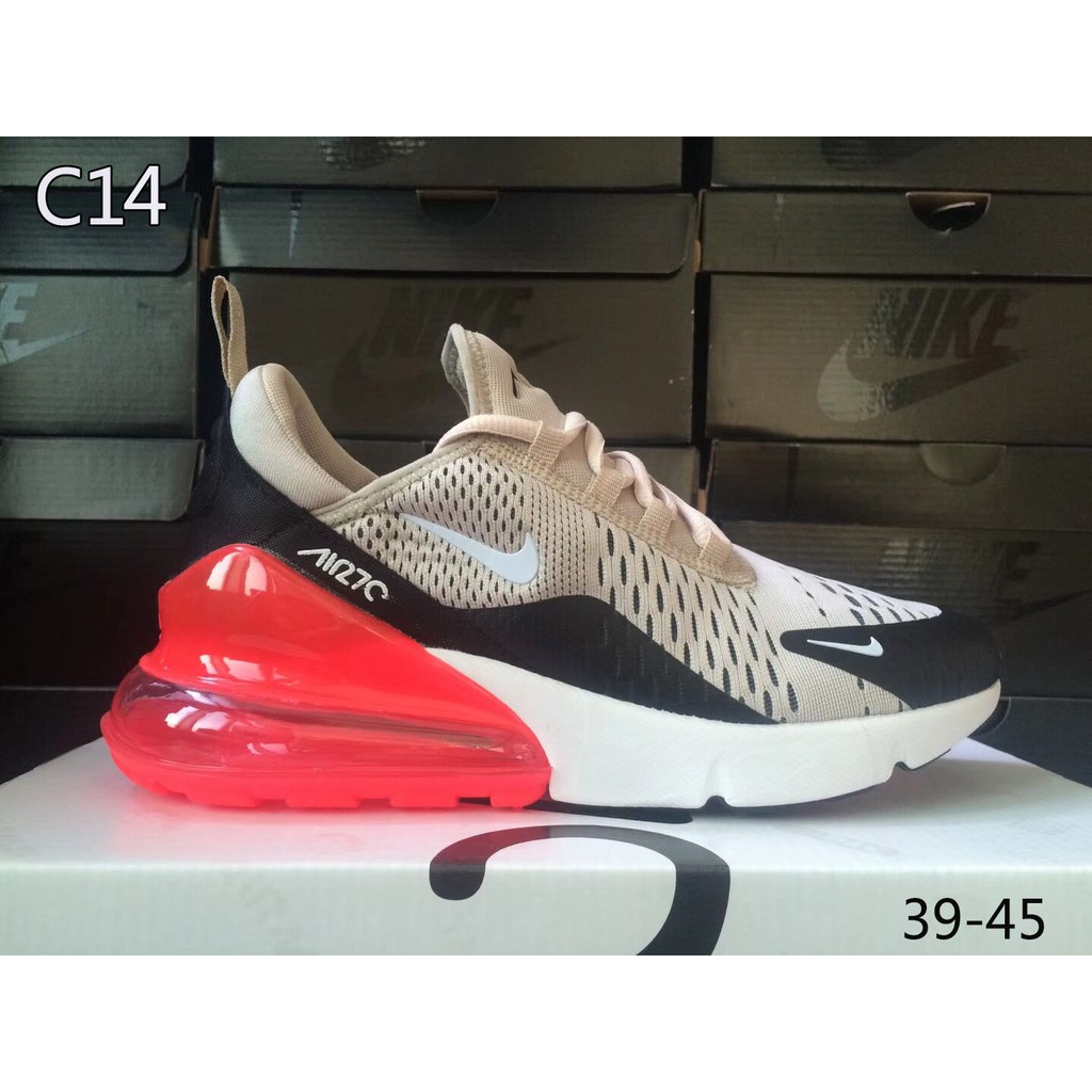 15 color 2018 Nike Air Max 270 c menwomen sports running sneakers casual shoes