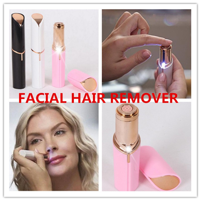 Flawless Lipstick Women Electric Face Mini Hair Removal Machine