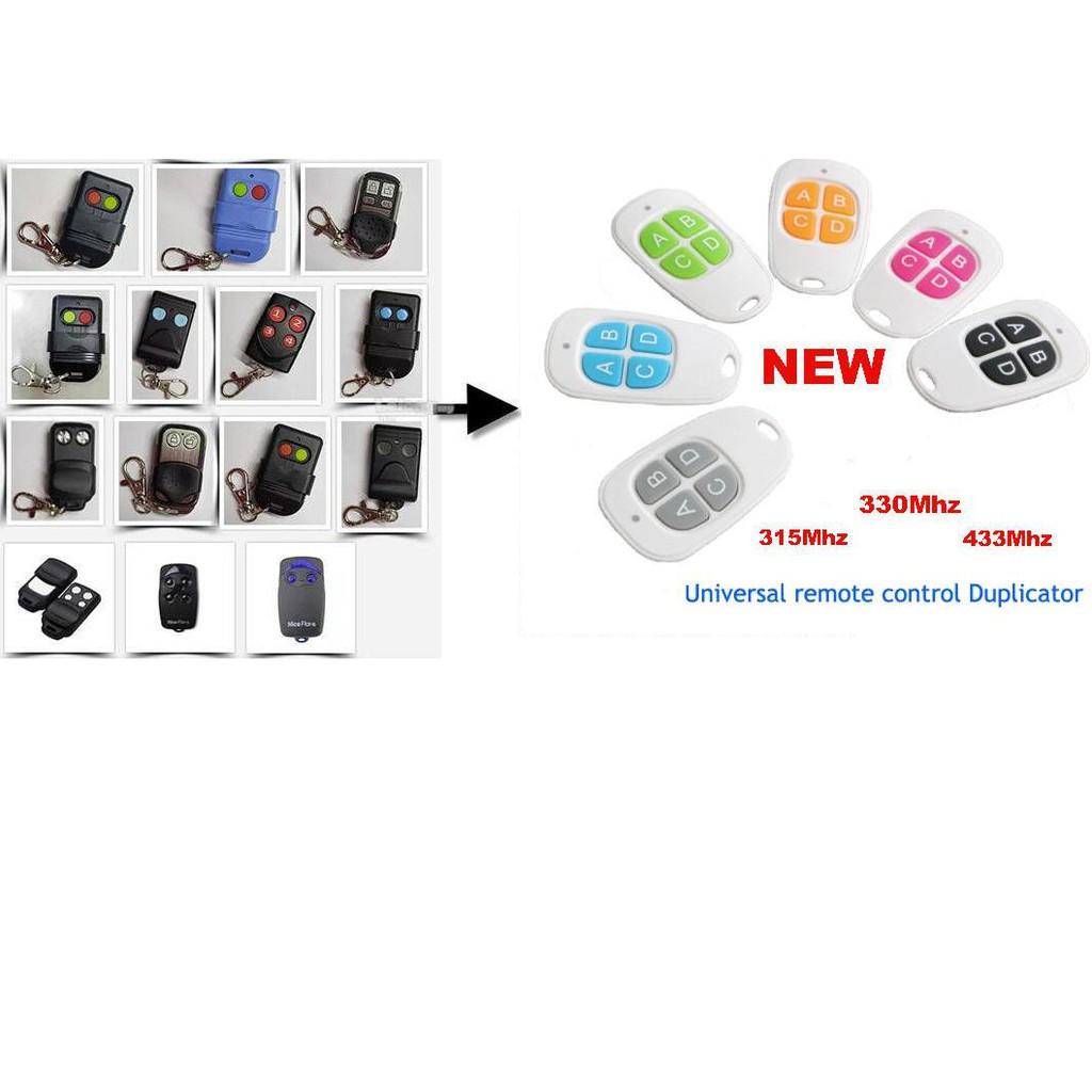 Waterproof Universal 315/330/433Mhz Autogate & Alarm Remote Control