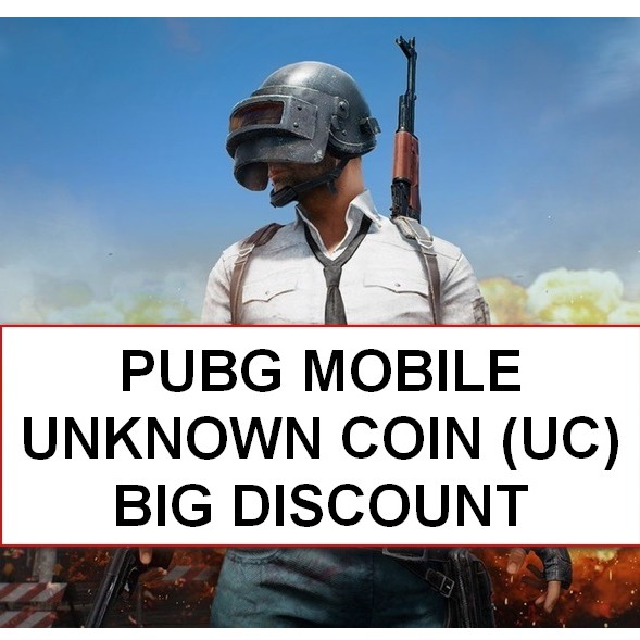 PUBG MOBILE UNKNOWN COIN UC TOP UP